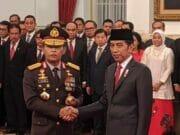 Presiden Jokowi Resmi Melantik Jendral Polisi Idham Azis Msi,Sebagai Kapolri