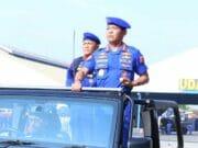 Kapolri Pimpin Upacara Parade Hut Ke - 69 Korpolairud