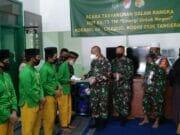 Peduli Sesama, di HUT TNI ke 75 Koramil 04/Ciledug Santuni Yatim Piatu