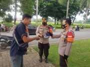 Kapolresta Tangerang Pimpin Operasi Yustisi, 20 Pelanggar Diberi Edukasi dan Masker