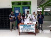 Dinas PU CKTRP Gelar Jumat Barkah di Masjid Al Muttaqin Terawas