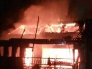 Rumah Hangus Terbakar, Satu Keluarga Meninggal Dunia