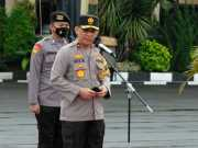 Waka Polda Banten Cek Kesiapan Personil Pengamanan Malam Tahun Baru