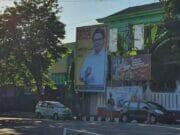 Baliho Bertuliskan 'Airlangga Hartarto 2024' Bertebaran di Purworejo