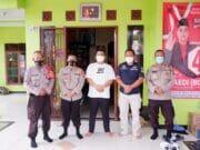 Jaga Kondusifitas Pasca Pemungutan Suara Pilkades, Camat Bersama Kapolsek Menyambangi Cakades